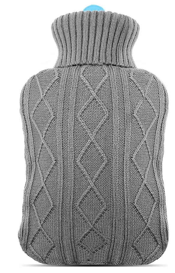 bouillotte tricotée